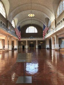The Grand Hall on Ellis Island